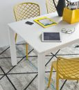 cb4010-r-130-baron-extendable-table-made-of-optic-white-metal-with-melamin-top-white-colour