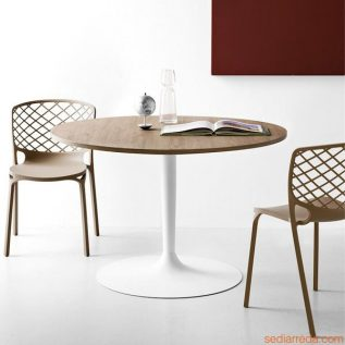 hires-cb4005-planet-optic-white-lacquered-metal-table-with-melamine-top-in-deco-hazelnut-colour-matched-with-cb1459-gamera-chairs